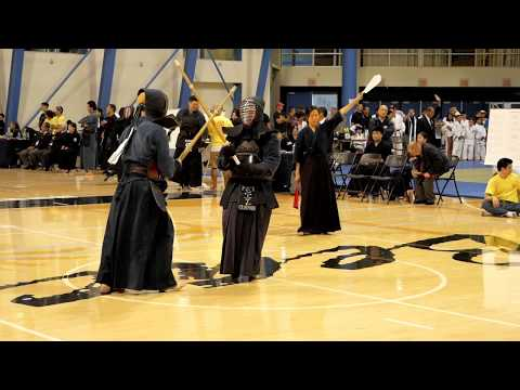 Kendo 2017 Nikkei Games Kachinuki Mixed Team Division: Match 9