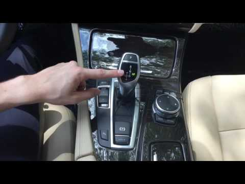BMW's Electronic Shift, Auto Hold, & Parking Brake