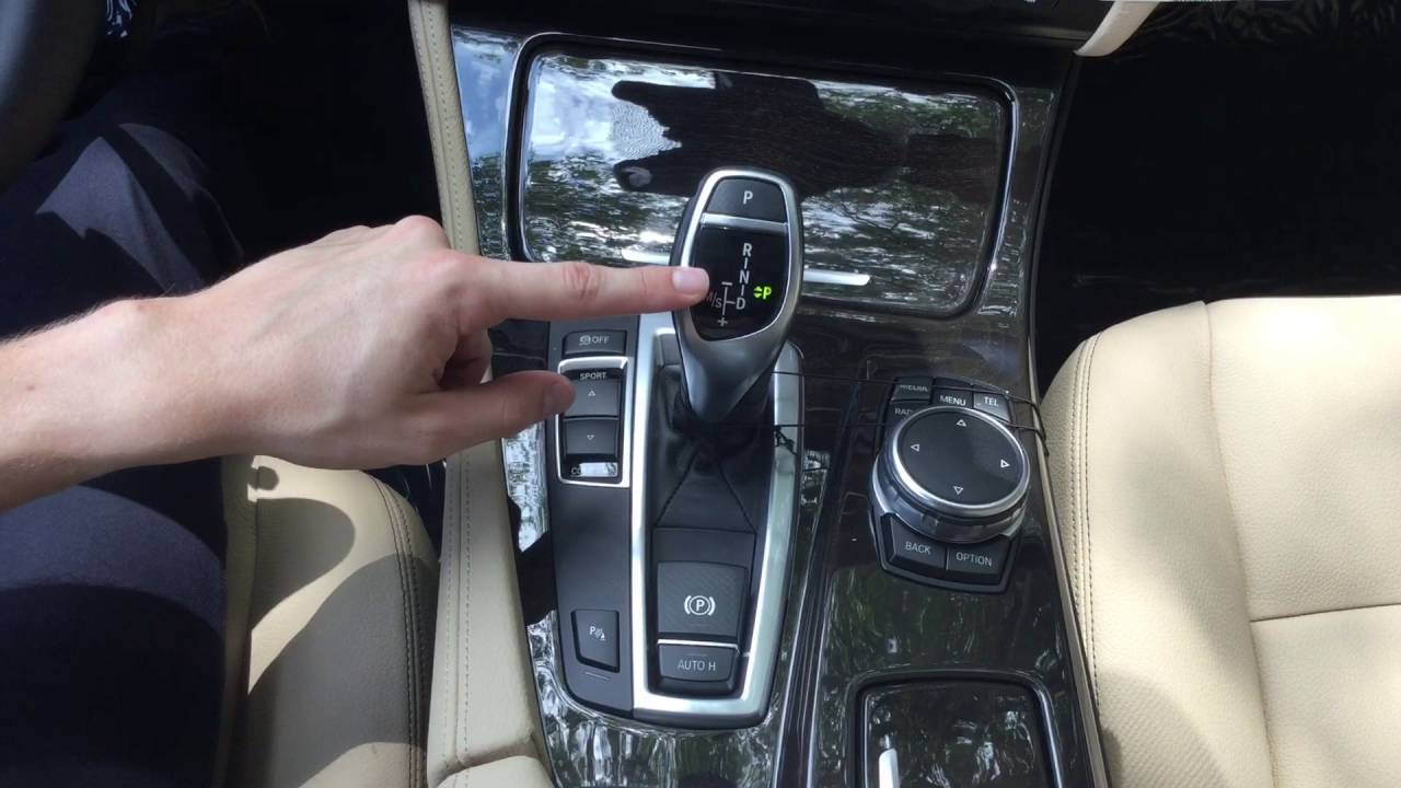 Bmw S Electronic Shift Auto Hold Amp Parking Brake Youtube