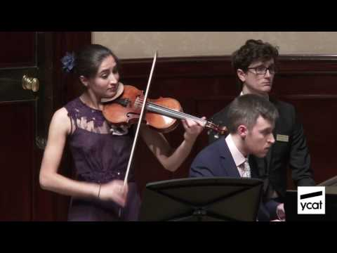 Savitri Grier, Richard Uttley; Enescu Violin Sonata No. 3 in A minor; mov. iii