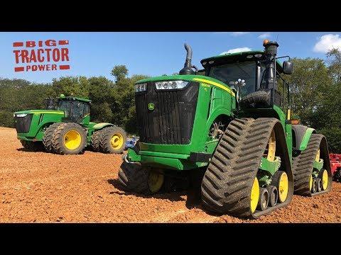Tracks Vs.Tires John Deere 9RX And 9R Showdown