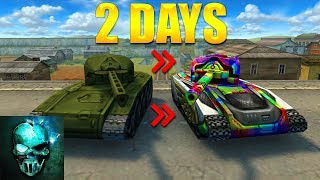 Completing Hornet XT & Legacy Railgun Challenge in 53 HOURS!! - Tanki Online - Ghost Animator TO