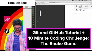 Live Stream #32: Git and GitHub Tutorial and the Snake Game