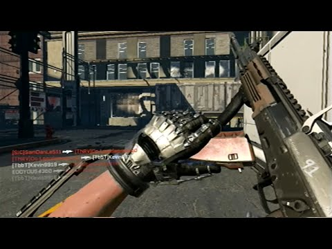 Call Of Duty: Advanced Warfare PS3 Gameplay on Detroit ...
