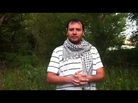 Rubble Bucket Challenge prezidentovi Kiskovi: Solidarita s Gazou