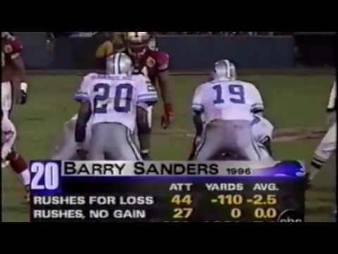 Barry Sanders Ultimate Highlights
