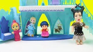 Maşa ve Heidi Elsa'nın Sarayında Ne Yapıyorlar? Elsa Maşa ve Heidi'ye Yardım Edecek'mi? Çizgi Film