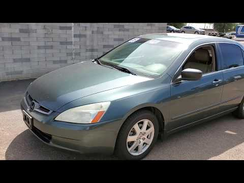 Let's check out a 2005 Honda Accord EX-L with 134k