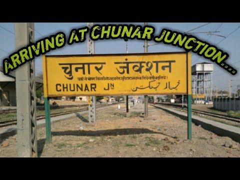 Arriving At Chunar Junction 64595 Mughalsari Allahabad Memu Passenger
