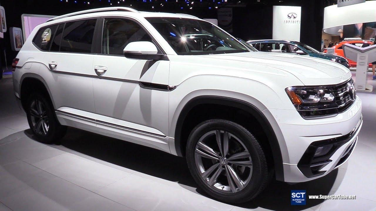 2018 Volkswagen Atlas R Line 4motion - Exterior Interior Walkaround - 2018 Detroit Auto Show ...