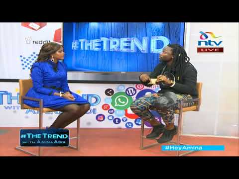 Fadhilee Itulya on his new album 'Kwetu' and promoting African culture #theTrend