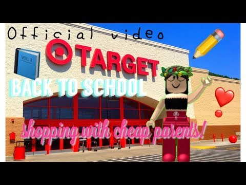 Back to school shopping with cheap parents!