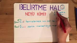 HAL EKLERİ (1-YALIN HAL 2-BELİRTME HAL 3-BULUNMA HAL 4-YÖNELME HAL 5-AYRILMA HAL Video