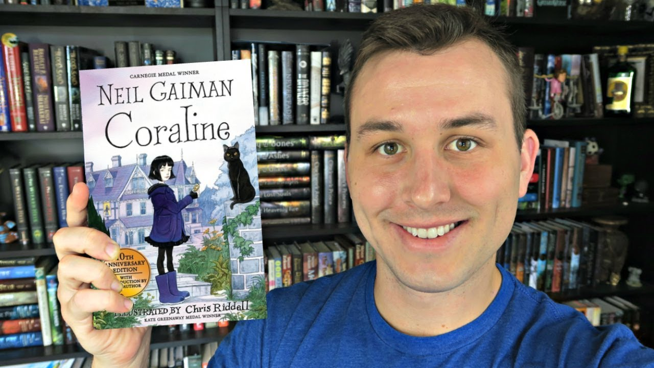 Book Review Coraline By Neil Gaiman Cc Youtube