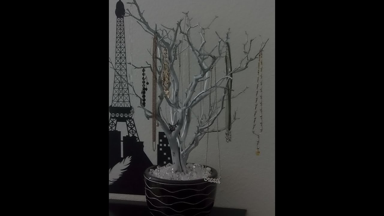 103 DIY Jewelry Tree YouTube