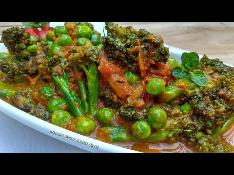 Broccoli Recipe In Hindi By Indian Food Made Easy