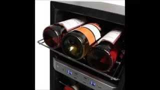 Edgestar 21 Bottle Dual Zone Stainless Steel Wine Cooler -- Stainless Steel