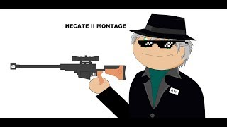 Roblox : Phantom Forces Hecate II Montage! Owo