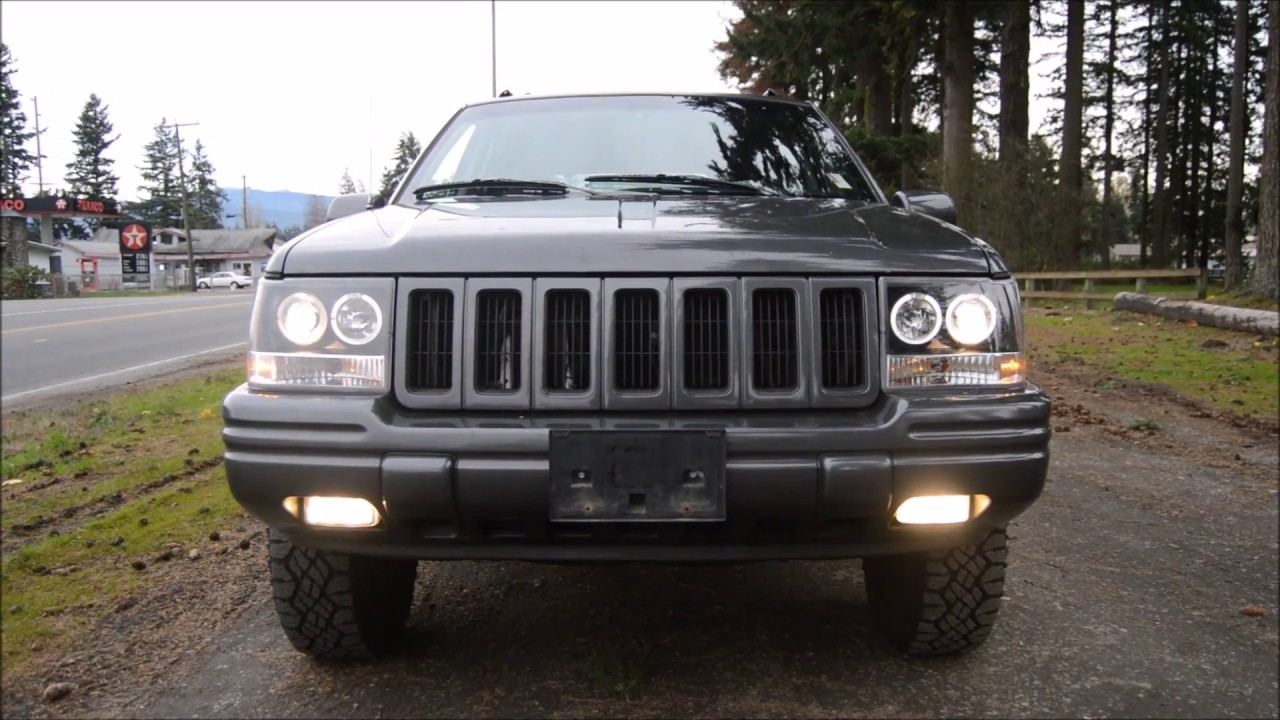 1997 jeep grand cherokee limited 5.2l v8 4x4 leather & loaded