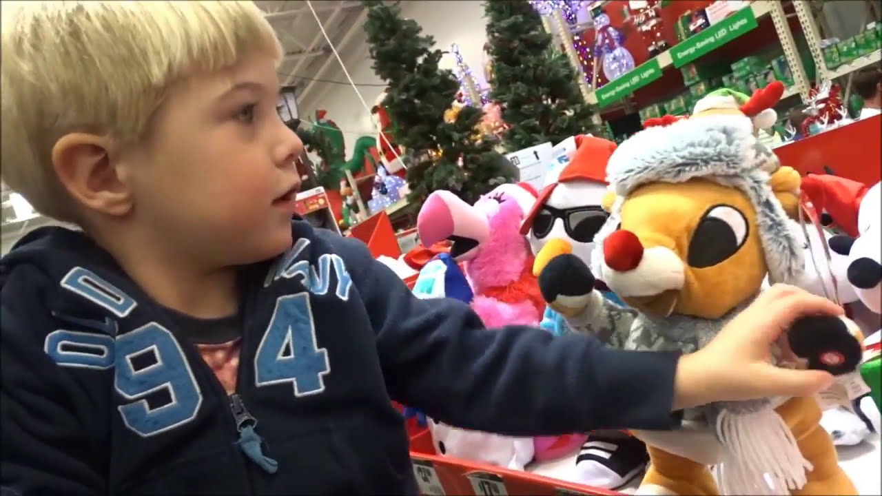 2017 Home Depot Christmas Decorations! Little Max Loves