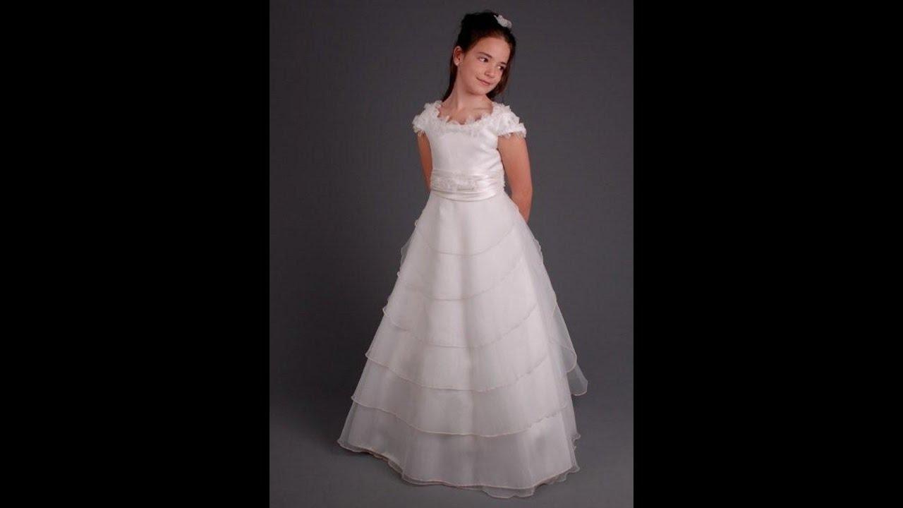 Modelos de vestidos de primera comunion 2015