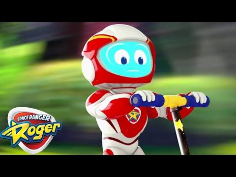 Space Ranger Roger | Roger Sticks the...