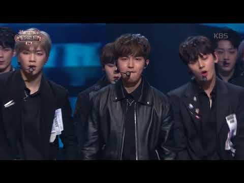 2017 KBS가요대축제 Music Festival - 워너원 - NEVER (NEVER - WannaOne). 20171229