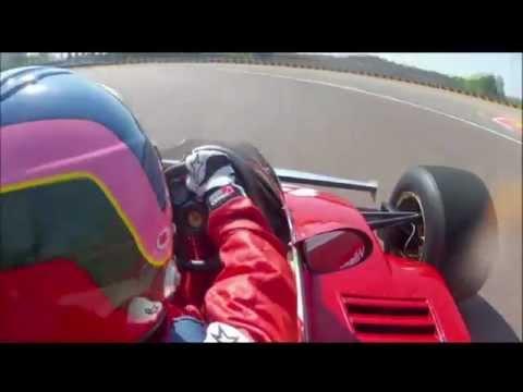 Jacques Villeneuve drive his father's car.