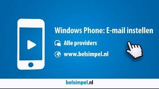 Tips & Tricks - Windows Phone: E-mail instellen