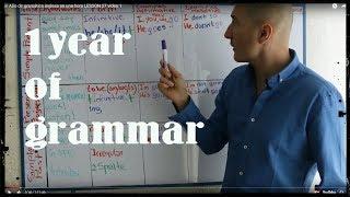 un Año de gramática inglesa en una hora LESSON 27 video 1
