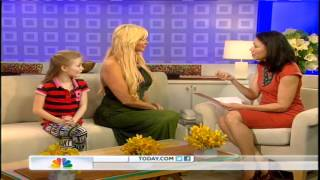 Sarah & Poppy Burge on The Today Show with Ann Curry USA
