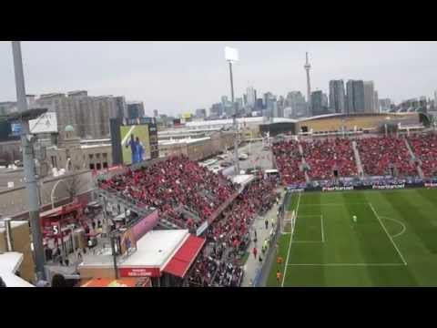 Colorado Rapids Goal Celebration vs. Toronto FC April 2014