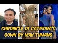 BEHIND THE SEAMS | The Story Of Catriona Gray's Evening Gown by Mak Tumang