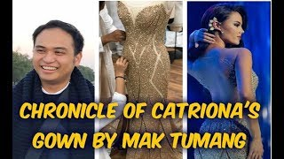 BEHIND THE SEAMS | The Story Of Catriona Gray