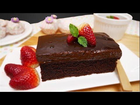 สูตรเค้กช็อกโกแลตหน้านิ่ม ไม่ใช้เตาอบ??? ทำในไมโครเวฟ : ทำขนมง่ายๆ