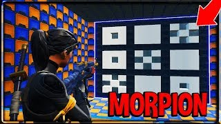 J'AI CREE UN MORPION EN MODE CREATIF SUR FORTNITE (mini jeux)