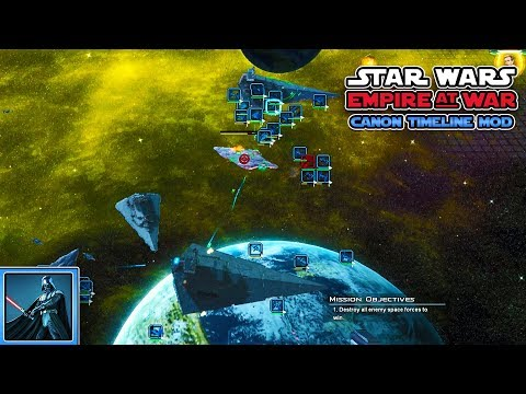 """Unsere erste Superwaffe! - Lets Play Star Wars Empire at War """"The Canon Timeline Mod"""" - Teil 2"""