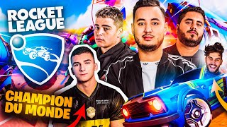 ON JOUE A ROCKET LEAGUE AVEC LEBOUSEUH, KAMETO, DOIGBY & KAYDOP !!!