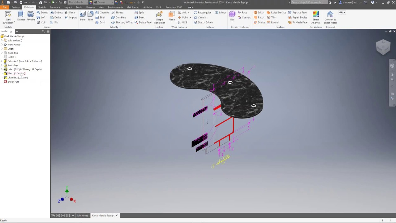 Resolving the DWG File in Inventor 2018 1 and 2018 2