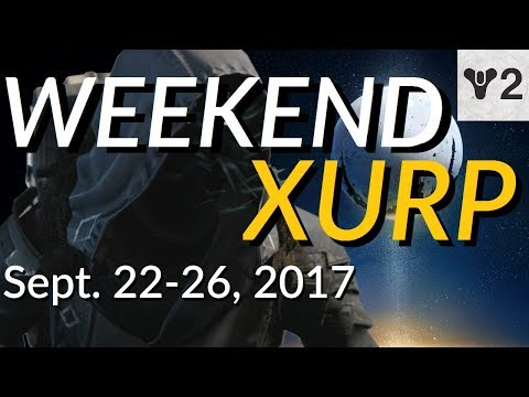 WEEKEND XURP | Sept. 22-26, 2017 | Destiny Xur Location and Exotics Guide | THE WARDCLIFF COIL!!