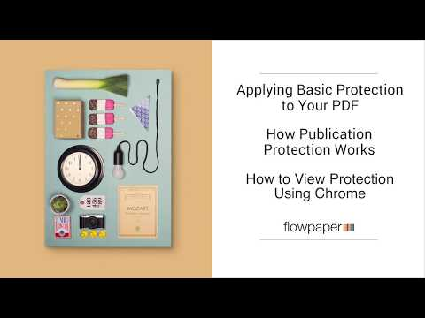 Protect PDF online | FlowPaper
