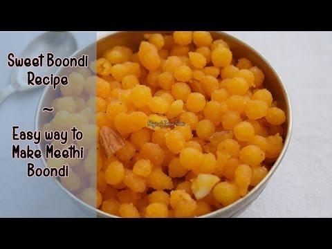 Download Youtube: Sweet Boondi Recipe |  Easy Way to Make Meethi Boondi |  Magic of Indian Rasoi