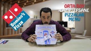 DOMİNOS  CAZİP/EFSANE MENU  Ne Söyledik Ne Geldi  Acılı Bol Malzemos + Mozaik Pasta + Sprite