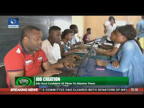 Job Creation: Edo Govt. Registers 63,000 Unemployed In 3 Weeks