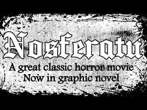 Nosferatu Graphic Novel book trailer