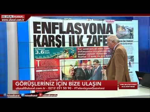 Televizyon Gazetesi - 4 Aralık 2018 - Halil Nebiler - Ulusal Kanal