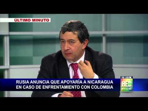 Gobierno Ruso apoyaría a Nicaragua en un hipotético conflicto bélico con Colombia