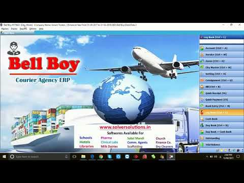 Bell Boy  ERP Software For Courier Agencies