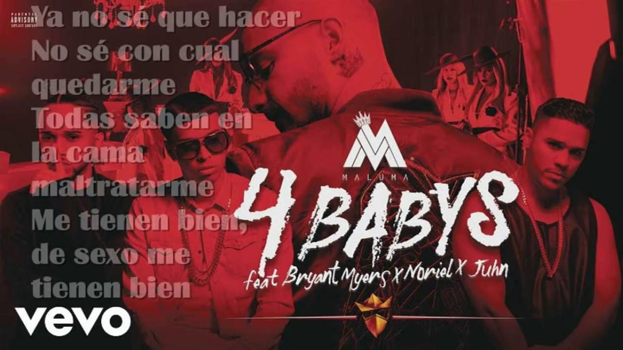 4 Babys- letra