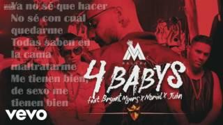 4 babys letra